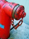 Primo piano dell'idrante antincendio Immagini Stock