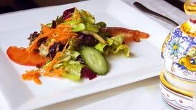 Primo piano dell'insalata Fotografia Stock Libera da Diritti
