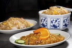 Primo piano dell'insieme di pranzo cinese Immagini Stock Libere da Diritti