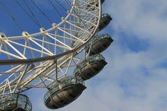 Primo piano dell'occhio di Londra Fotografie Stock Libere da Diritti