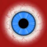 Primo piano dell'occhio umano Immagine Stock Libera da Diritti