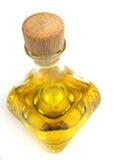 Primo piano dell'olio di oliva Immagine Stock