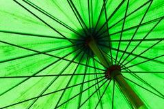Primo piano dell'ombrello Immagine Stock