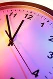 Primo piano dell'orologio Immagini Stock Libere da Diritti