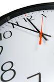 Primo piano dell'orologio Immagine Stock Libera da Diritti