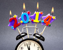 2014 felice! Fotografia Stock