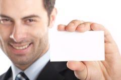 Primo piano dell'uomo d'affari Immagini Stock