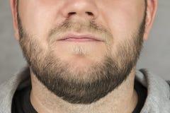 Primo piano dell'uomo della barba Fotografia Stock Libera da Diritti
