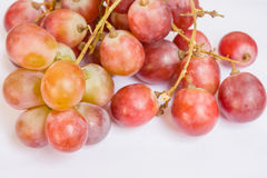 Primo piano dell'uva rossa Immagine Stock Libera da Diritti