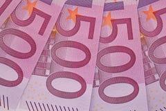 Primo piano della banconota Fotografie Stock