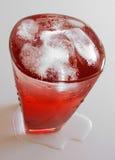 Primo piano della bevanda Fotografia Stock Libera da Diritti