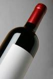 Primo piano della bottiglia di vino Fotografie Stock