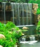Primo piano della cascata Fotografie Stock