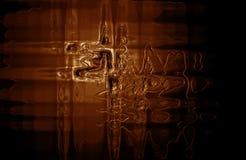 Primo piano della cioccolata calda Fotografia Stock