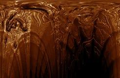 Primo piano della cioccolata calda Fotografie Stock Libere da Diritti
