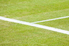 Primo piano della corte di tennis Fotografia Stock