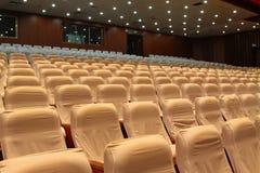 Sedie del teatro Fotografia Stock Libera da Diritti