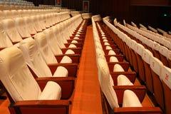 Sedie del teatro Immagine Stock