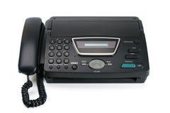 Primo piano della macchina di fax Fotografie Stock