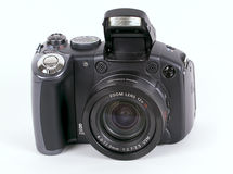 Primo piano della macchina fotografica di Digitahi. fotografia stock libera da diritti