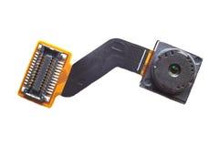 Primo piano della macchina fotografica di Smartphone Fotografia Stock