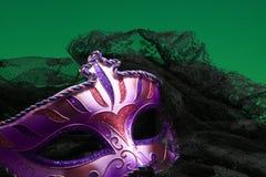 Primo piano della maschera Fotografie Stock