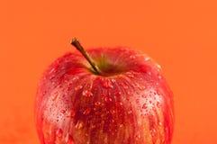 Primo piano della mela rossa Fotografia Stock Libera da Diritti