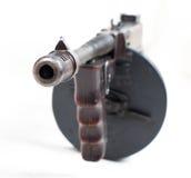Primo piano della mitragliatrice Fotografia Stock Libera da Diritti