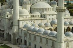 Primo piano della moschea di Suleymaniye Fotografia Stock