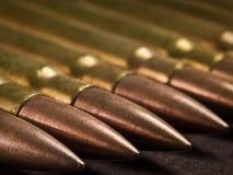 Primo piano della munizione Immagini Stock Libere da Diritti