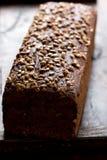 Primo piano della pagnotta del pane Fotografia Stock Libera da Diritti