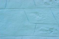 Primo piano della parete blu immagini stock libere da diritti