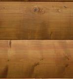 Primo piano della parete di legno del cottage fotografia stock libera da diritti