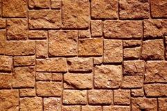 Primo piano della parete di pietra Immagine Stock Libera da Diritti