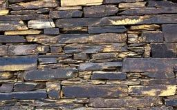 Primo piano della parete di pietra vittoriana dettagliata fine Immagine Stock Libera da Diritti