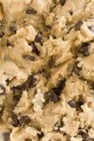 Primo piano della pasta del biscotto Fotografie Stock