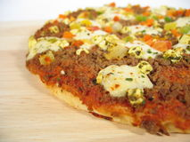 Primo piano della pizza immagini stock libere da diritti