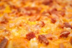 Primo piano della pizza delle guarnizioni Immagini Stock Libere da Diritti