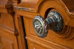 Primo piano della porta Fotografia Stock Libera da Diritti