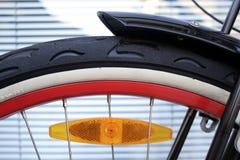 Primo piano della rotella di bicicletta Immagine Stock Libera da Diritti