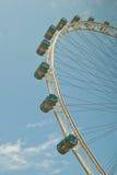 Primo piano della rotella di Ferris Immagine Stock Libera da Diritti