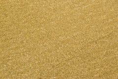 Primo piano della sabbia di una spiaggia Fotografia Stock