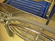 Primo piano della sedia a rotelle Fotografie Stock Libere da Diritti