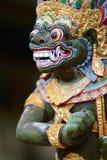 Primo piano della statua del dio di Balinese Immagini Stock