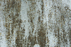 Primo piano della superficie di metallo arrugginita Immagine Stock