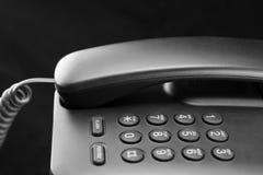 Primo piano della tastiera del telefono Immagini Stock Libere da Diritti
