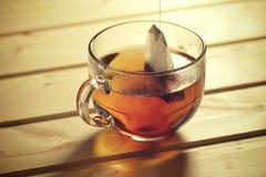 Primo piano della tazza di tè Fotografie Stock Libere da Diritti