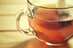 Primo piano della tazza di tè Immagini Stock Libere da Diritti