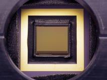 Primo piano della telecamera CCD Fotografia Stock