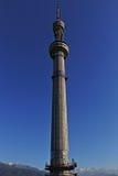 Primo piano della torre di Almaty fotografia stock libera da diritti